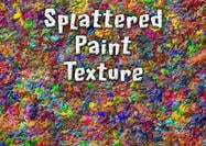 Splattered Verf Textuur En Patroon
