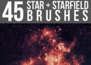 Starfield-star-brushes