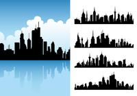 City skylines brushes pack