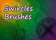 Swircles Ornament Brushes