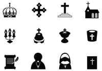 Christian Brush Icon Pack
