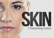 5 Haut Retouching Aktionen