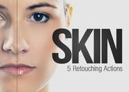 5 acciones de retoque de la piel