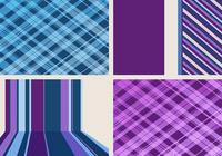 Strepen en Plaid Backgrounds Pack