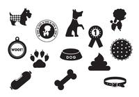 Dog-brushes-icon-pack