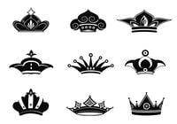 Crowns-brushes-pack