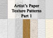 Motifs de la texture du papier de l'artiste 1