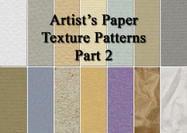 Padrões de textura de papel do artista 2