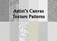 12 Artist's Canvas Texture Patterns