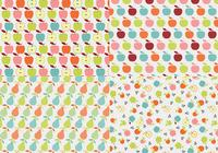 Retro Apple Pattern Pack
