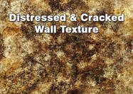Distressed and Cracked Wall Texture