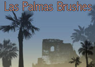 Las Palmas Palm Tree Brushes