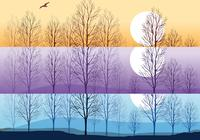 Silhouette-trees-wallpaper-and-brushes-pack