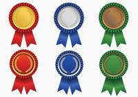 Award Ribbon Brushes Pack