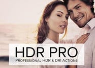 HDR Pro Photoshop-acties