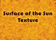 Surface of the Sun Texture