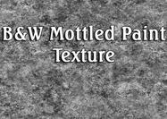 Black-white-mottle-paint-texture