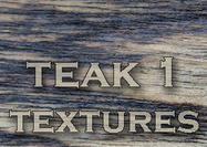 4 grandes textures de bois de teck 1