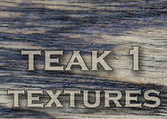 4 Large Teak Wood Textures 1