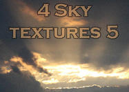 4 Large Sky Textures