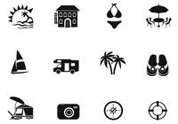 Summer Brush Icons Pack