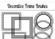 Decorative-frame-brushes
