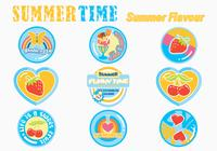 Summer Sticker Brushes Pack