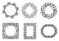 Hand-drawn-floral-frame-brushes-pack