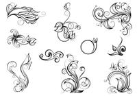 Hand Drawn Flourish Brush Pack
