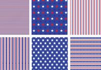 Paquet de motifs USA Stars and Stripes