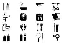 Personal Care Brush Symbols Pack