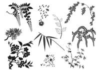 Oriental-branches-and-leaves-brushes-pack