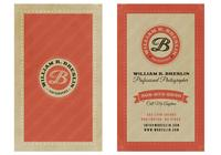 Vintage Banner Business Card PSD Pack