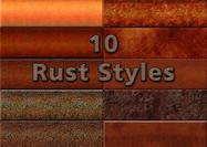 Grungy Rust Styles
