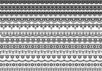 Lace Border Bürsten-Pack