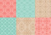 Nahtlose Ornamental Pattern Pack