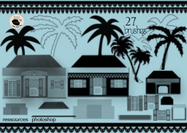 Tikaz-la-renyon-house-and-palm-tree-brushes