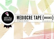 Mediocre-tape-brushes-pt-1