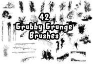 42 Grubby Grunge Brushes