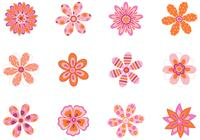 Patterned Floral Brushes Pack