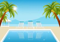 Tropical-summer-pool-wallpaper-photoshop-backgrounds
