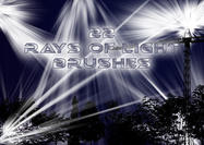 22 Rays of Light Brushes