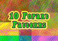 10 HD Popart Patterns
