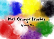 Wet Grungy Brushes
