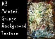 A3 Painted Grunge Background