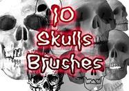 10-creepy-skulls-brushes