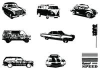 Grungy Vintage Car brushes pack
