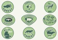 Forest-animal-badge-brush-pack-photoshop-brushes