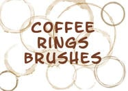 Coffee Mug Ring Stains Brushes
