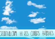 Hi-resolution-cloud-brushes